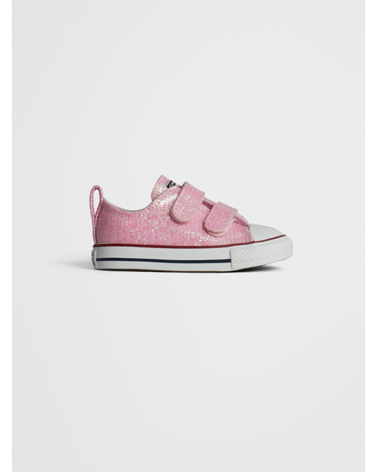 Converse Ctas 2v Ox 763550c Pink Foam/enamel Red/white