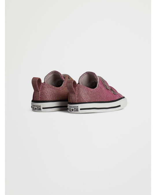 Converse Ctas 2v Ox 765103c Barely Rose/silver/white