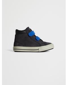 Ctas 2v Pc Boot Hi  Almost Black/blue