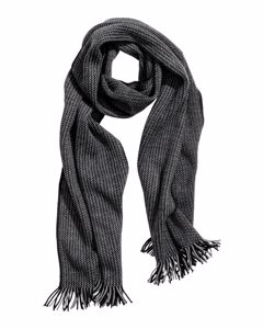 Sergio Knitted Scarf Grey