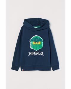 Murphy Sequins Hood