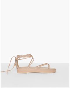Party Strap Sandal Beige