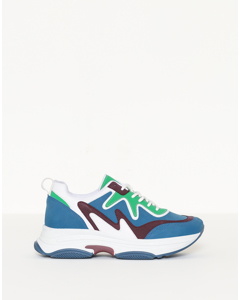 Brilliant Sneaker Blue/green