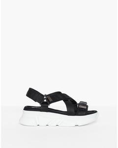 Perfect Chunky Sandal White/black
