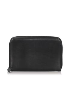 Prada Leather Organizer Black