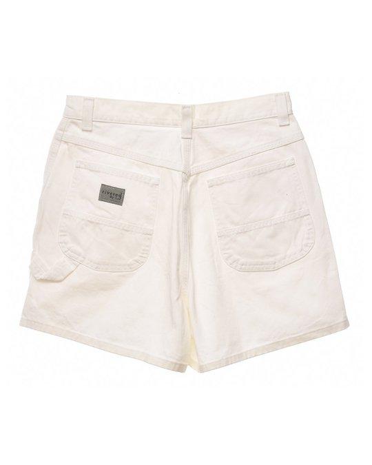 Lee Lee White Denim Shorts