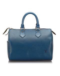 Louis Vuitton Epi Speedy 25 Blue