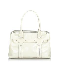 Ferragamo Pvc Tote Bag White