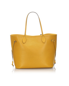 Louis Vuitton Epi Neverfull Mm Yellow