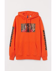 Hoodie mit Motiv Orange/The Shining