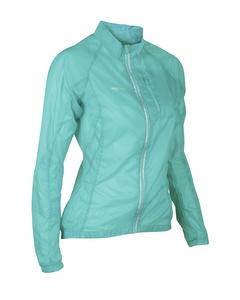 Feather Jacket Women Turquoise