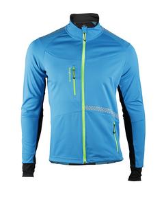 Moritz Jacket Men Blue/lime