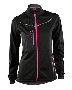 Moritz Jacket Women Black/neon Pink