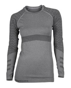 Seamless Top Ii Women Dark Grey