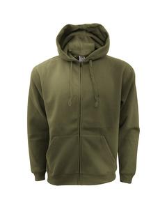 Fruit Of The Loom Mens Zip Through Hooded Sweatshirt / Hoodie