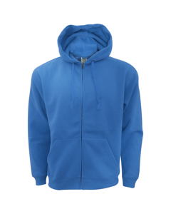 Fruit Of The Loom Mens Zip Through Hooded Sweatshirt / Hoodie