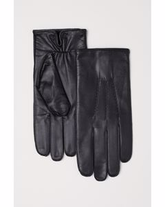 Sune Leather Glove Black
