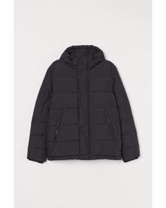 Huffel Puffer Jacket Black