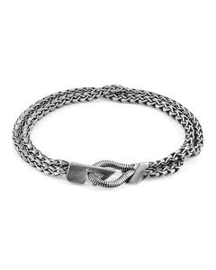Anchor & Crew Brixham Mooring Silver Chain Bracelet