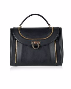Ferragamo Black Leather Handtaschen-Modell: Sofia Bag