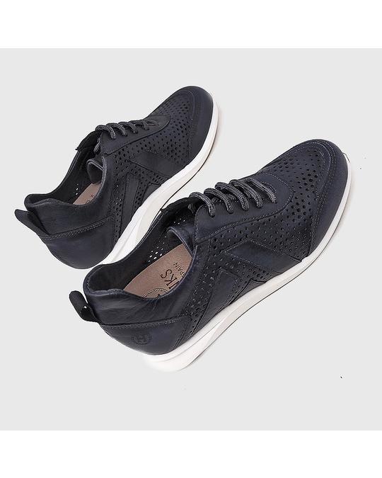 Hanks Farger Sneakers Dark Blue