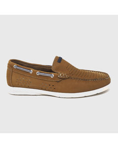 Carabela Nautical Shoes Leather Brown