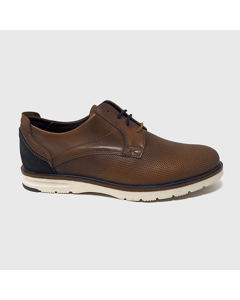 Alan Casual Shoes Leather Brown