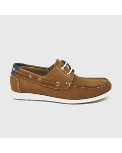 Corbeta Nautical Shoes Leather Brown