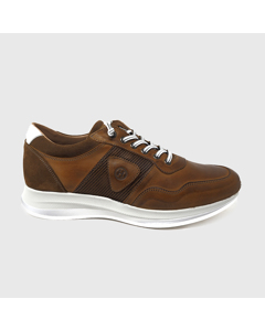 Ariel Sneakers Leather Brown