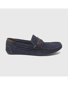 Axel Loafers Navy Blue