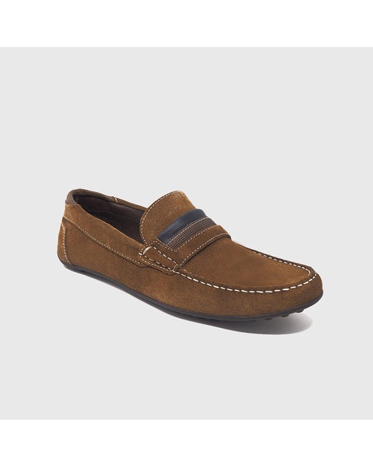 Hanks Axel Loafers Leather Brown