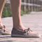Dylan Suede Espadrilles Taupe