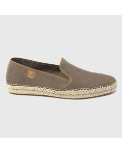 Grayson Suede Espadrilles Taupe