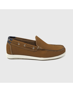 Fragata Nautical Shoes Leather Brown