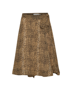 Tanyaiw Skirt Light Brown Animal