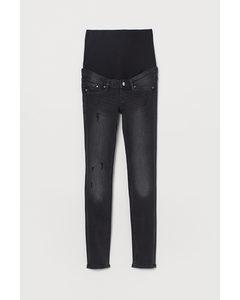 Mama Skinny Jeans Svart/tvättad
