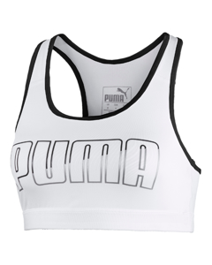 Puma 4keeps Bra Pm Puma White-puma Black/metallic Silver Puma