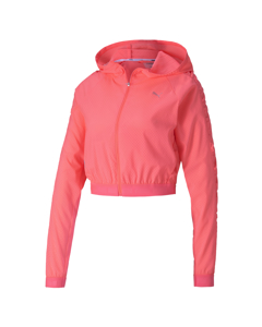 Be Bold Woven Jacket Ignite Pink