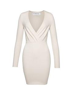 Slim Fit Mini Dress Natural