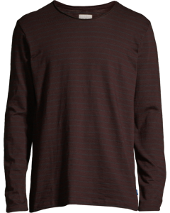 Men's T-shirt Long Sleeve, Plum Red