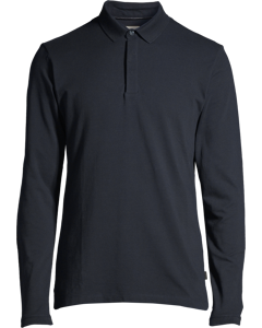 Men's Polo Shirt Long Sleeve, Navy