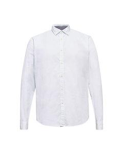 Men's Shirt Woven Long Sleeve, White