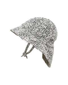 Dots Of Fauna Hat White/grey