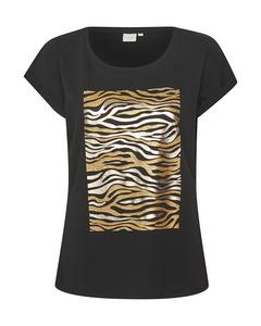 Tiacr T-shirt Pitch Black