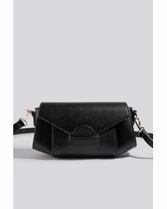 Wide Shoulder Bag Black