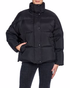Stand Puffer Jacket Alicia Black