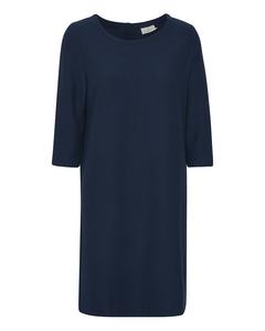 Kabeth Cropped Sleeve Jersey Dress Midnight Marine