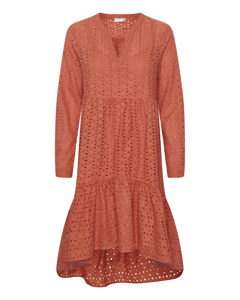 Kaangla Dress Dull Orange