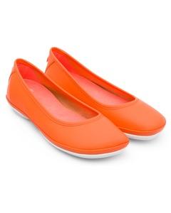 Right Ballerinas Orange