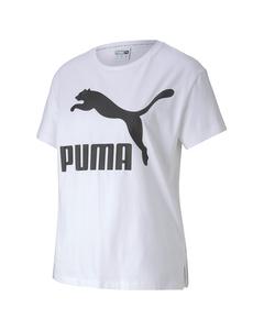 Classics Logo Tee Puma White